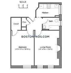Northeastern/symphony Apartment for rent 1 Bedroom 1 Bath Boston - $2,850 No Fee